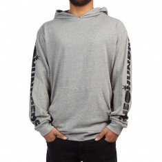 The Hundreds Alpha Polo Hoodie - Athletic Heather