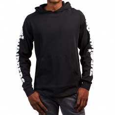 The Hundreds Alpha Polo Hoodie - Black