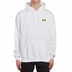 The Hundreds Flag Emblem Pullover Hoodie - White