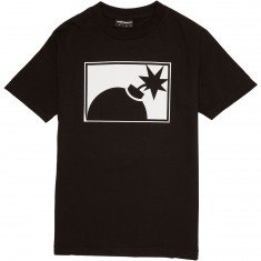 The Hundreds Forever Halfbomb T-Shirt - Black
