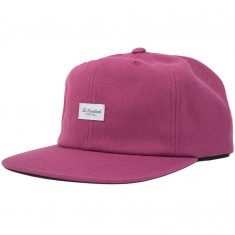 The Hundreds Script Snapback Hat - Fucshia