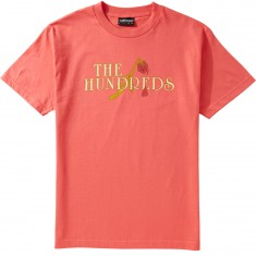 The Hundreds Drought T-Shirt - Coral