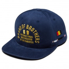 The Hundreds Bound Snapback Hat - Navy