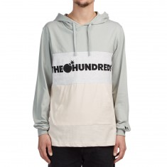 The Hundreds Deck Hooded Longsleeve T-Shirt - Light Grey