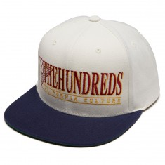 The Hundreds Decades Snapback Hat - Off White