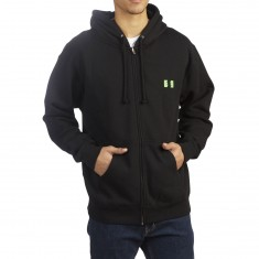 The Hundreds Pills Zip Up Hoodie - Black