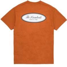 The Hundreds Rich Oval T-Shirt - Texas Orange