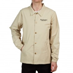 The Hundreds Rich Coaches Jacket - Khaki