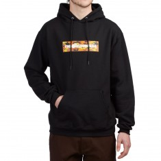 The Hundreds Camo Bar Hoodie - Black