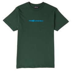 The Hundreds Bar Logo Embroidery T-Shirt - Forest