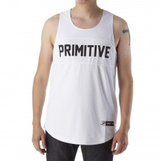 Primitive Mirage Basketball Jersey - White