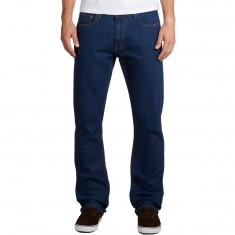 CCS Banks Slim Straight Fit Jeans - Dark Rinse