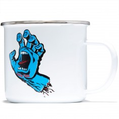 Santa Cruz Screaming Hand Mug - White