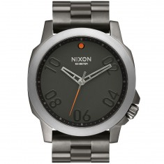 Nixon Ranger 46 Watch - Gunmetal/Black
