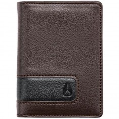 Nixon Showup Card Wallet - Brown