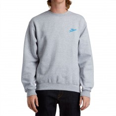 The Hundreds Slant Crewneck Sweatshirt - Athletic Heather