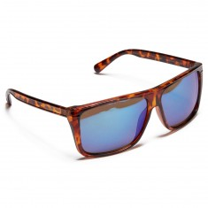 Happy Hour Casinos Szafranski Sunglasses - Tortoise/Blue Mirror