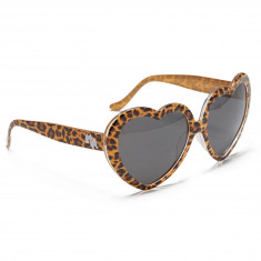 Happy Hour Hearts On Sunglasses - Leopard
