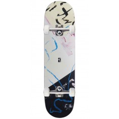 """Poetic Collective Doodle 1 Skateboard Complete - 8.25"""""""