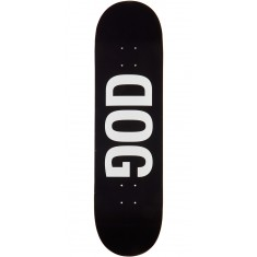 RawDogRaw Black DOG Skateboard Deck - 8.25""