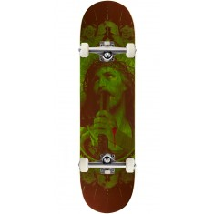 """Skate Mental Oh My Lord Skateboard Complete - 8.125"""" - Green"""
