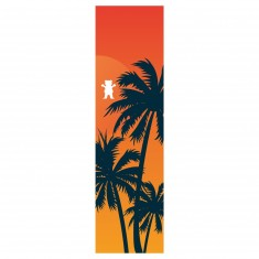 Grizzly Laguna Cutout Griptape - Orange