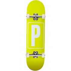 Preservation Logo Skateboard Complete - Yellow - 8.00""