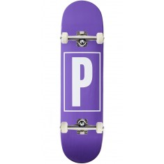 Preservation Logo Skateboard Complete - Purple - 8.25""