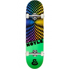Expedition Hypercolor Hoyle Skateboard Complete - 8.125""