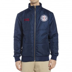 DGK Compass Puff Jacket - Navy