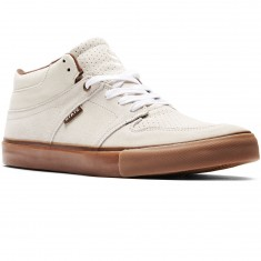 State Mercer Shoes - Cream/Gum Suede