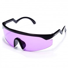Happy Hour Taylor Kirby The Accelerators Sunglasses - Black With Purple Lens