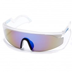 Happy Hour Taylor Kirby The Accelerators Sunglasses - Clear With Blue Lens