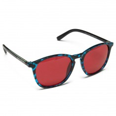 Happy Hour Flap Jacks Nuge Sunglasses - Blue/Green Tortoise