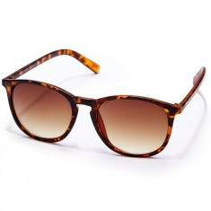 Happy Hour Jon Dickson Flap Jacks Sunglasses - Frosted Classic Tortoise