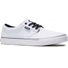 State Elgin Shoes - White/Navy Canvas