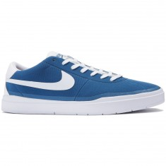 Nike SB Bruin Hyperfeel Shoes - Industrial Blue/White/White