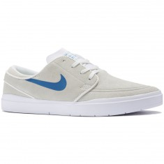Nike SB Stefan Janoski Hyperfeel Shoes - Summit White/Industrial Blue