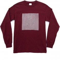The Killing Floor Wavey Logo Long Sleeve T-Shirt - Crimson