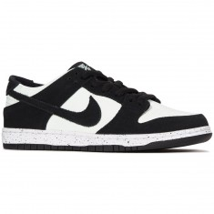 Nike SB Dunk Low Pro Shoes - Black/Green/White