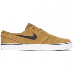 Nike Zoom Stefan Janoski Shoes - Golden Beige/Black