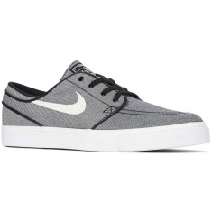 Nike Zoom Stefan Janoski Canvas Shoes - Black/Sail