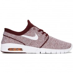 Nike Stefan Janoski Max Shoes - Dark Team Red/White/Circuit Orange