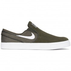 Nike Zoom Stefan Janoski Slip-On Shoes - Sequoia/White
