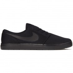 Nike SB Portmore II Ultralight Shoes - Black/Black/Anthracite