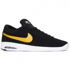 Nike SB Air Max Bruin Vapor Shoes - Black/Circuit Orange/White
