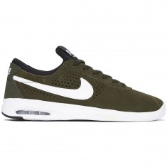 Nike SB Air Max Bruin Vapor Shoes - Sequoia/White/Golden Beige