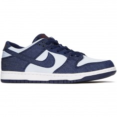 Nike SB Zoom Dunk Low Pro Shoes - Binary Blue/Hydrogen Blue