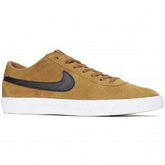 Nike SB Bruin Premium SE Shoes - Golden Beige/Black/White