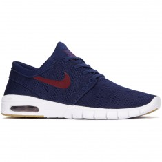 Nike Stefan Janoski Max Shoes - Binary Blue/Team Red/Gum Brown